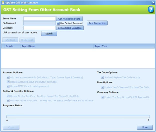 autocount accounting how to update to sst